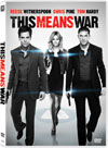 This Means War - DVD