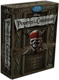 Moviesuper Pirates Of The Caribbean 4 Movies Collection Boxset