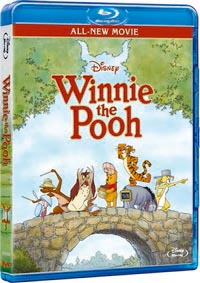Winnie the Pooh Movie 2011 - BLU-RAY