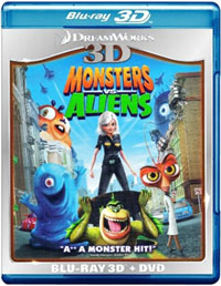 Monster VS Aliens - 3D BLU-RAY