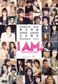I AM: SM TOWN Live Tour in Madison Square Garden - DVD