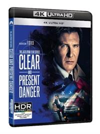 CLEAR AND PRESENT DANGER - BLU-RAY(UHD)