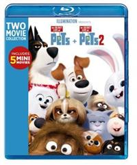 THE SECRET LIFE OF PETS 2-MOVIE COLLECTION[2-DISC] - BLU-RAY